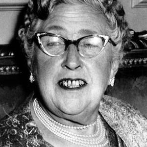 A escritora de mistérios Agatha Christie - AP