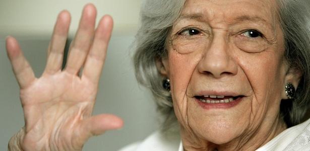 A escritora espanhola Ana María Matute em Madri (20/10/2005) - Fernando Alvarado/Efe