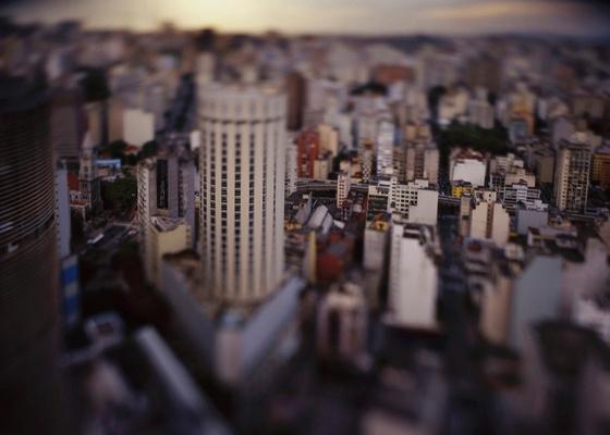 São Paulo em foto de Cláudio Edinger, que expõe em Nova York imagens da capital paulista - Claudio Edinger/Divulgação