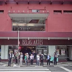Fachada do Cine Belas Artes, localizado na rua da Consolação, em São Paulo - Rodrigo Capote / Folhapress