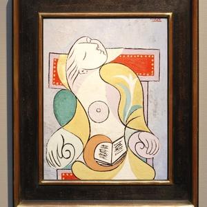 "Exposto na Sotheby""s de Londres, retrato pintado por Pablo Picasso em 1932 mostra Marie-Therese Walter (19/01/2011) - Benoit Tessier / Reuters"