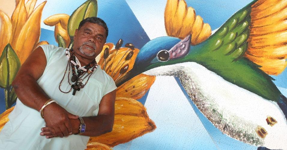 Laíla, diretor de harmonia da escola de samba Beija-Flor de Nilópolis (25/1/2011)
