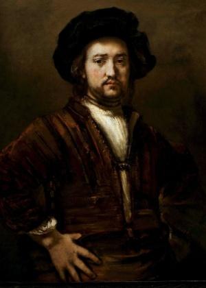 """""""Retrato de um Homem com as Mãos nos Quadris"""", de Rembrandt - EFE"""