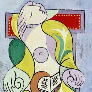 """""""A Leitura"""", tela de Picasso vendida por US$ 40,7 milhões; em 2010, um trabalho de Picasso atingiu valor recorde para uma obra, US$ 106,5 milhões - EFE"""