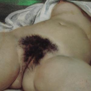 """A pintura """"A Origem do Mundo"""", de Courbet, que escandalizou a sociedade com o quadro realista - Reprodução"""