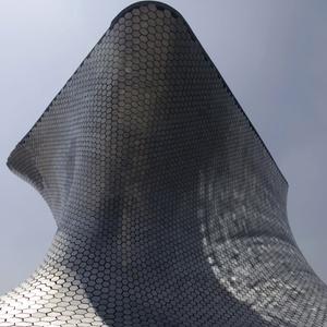 Fachada do Museu Soumaya, na Cidade do México, inaugurado nesta terça (1) - Dario Lopez-Mills/AP Photo