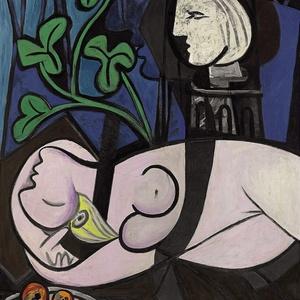 """""""Nu, Folhas Verdes e Busto"""", quadro pintado pelo pintor espanhol Pablo Picasso em 1932 - EFE/Christie""""s Images Ltd"""