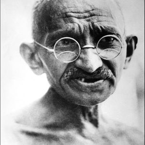 Livro que mostraria Gandhi como bissexual revolta indianos - AFP/PHOTO
