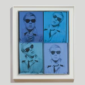 """""""Self-Portrait"""", de Andy Warhol - Reuters / Christie´s"""