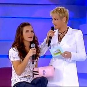 Bianca Bin e Xuxa durante o novo quadro Amizade Secreta