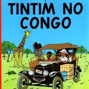 Capa de edição da Cia das Letras de Tintim no Congo - Divulgação