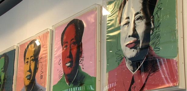 """""""Mao"""" (1972), obra de Andy Warhol - Ana Crespo / EFE"""