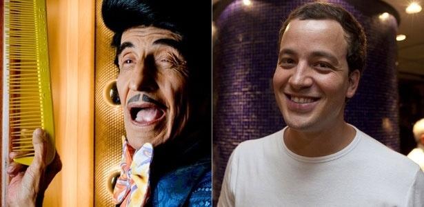 Os humoristas Jorge Loredo, o Zé Bonitinho (esq), e Rafael Cortez (dir) - Letícia Moreira/Folha Imagem / Félix Lima/Folhapress