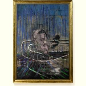 "Obra ""Crouching Nude"", de Francis Bacon - EFE/ Christie""s"