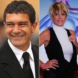 Antonio Banderas e Ana Maria Braga