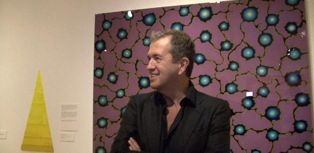 O fotógrafo peruano Mario Testino durante entrevista à EFE no Museo del Barrio de Nueva York (26/5/2011) - EFE