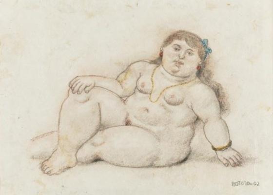 Obra de Botero leiloada na Sotheby de Nova York (26/5/11) - Reprodução/Sotheby