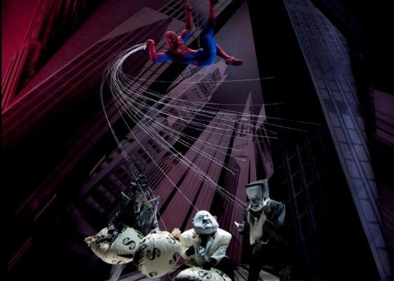 Cena do espetáculo na Broadway - Reprodução/Facebook