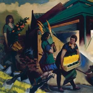 """A obra """"Outubro"""", do pintor alemão Neo Rauch; Bernhard Heisig, mestre de Rauch, morreu aos 86 anos em junho - Divulgação"""