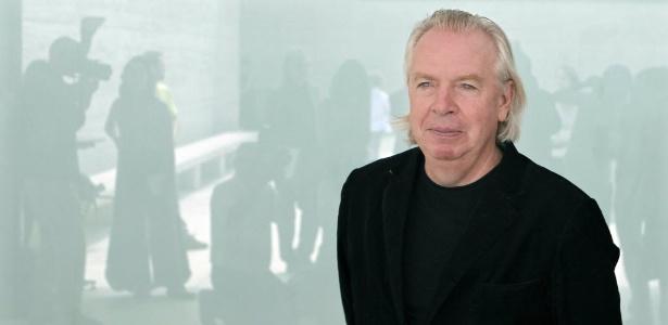 O arquiteto britânico David Chipperfield no Prêmio de Arquitetura Contemporânea da UE em Barcelona, na Espanha (20/06/2011) - EFE