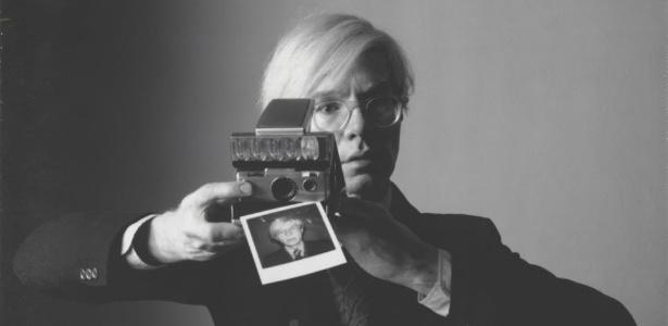 O artista plástico Andy Warhol, que terá sua obra exposta no Met de Nova York - EFE