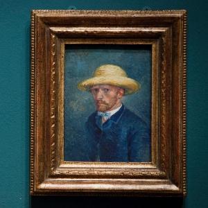 """Pintura feita por Vincent van Gogh, anteriormente conhecida como """"Autorretrato"""", que mostra seu irmão Theo (21/06/2011) - EFE"""