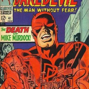 """Capa de revista em quadrinhos do """"Demolidor"""", da Marvel - Reprodução"""