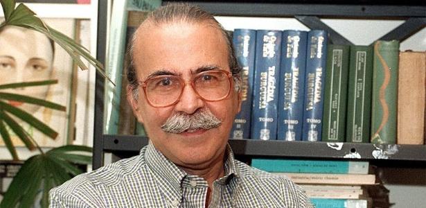 O poeta Mario Chamie - Bel Pedrosa/Folha Imagem
