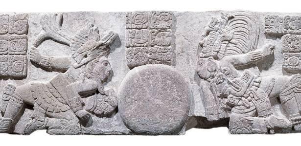 Revista de arqueologia apresenta imagem de inscrições da cultura Maia - EFE/Jorge PÈrez