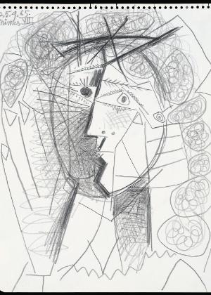 """""""Tete de Femme"""", de 1965, é avaliado em mais de US$ 200 mil - AP"""