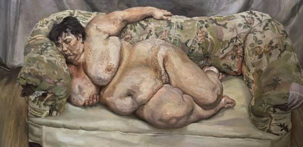 """Quadro """"Benefits Supervisor Sleeping"""", do britânico Lucian Freud - EFE"""