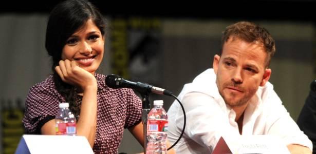 """Freida Pinto e Stephen Dorff falam sobre """"Imortais"""" na Comic-Con (23/7/2011) - Getty Images"""