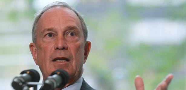 O prefeito de Nova York, Michael Bloomberg - Mario Tama/Getty Images