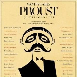 "Capa do livro ""Vanity Fair""s Proust Questionnaire"" (2011) - Reprodução"