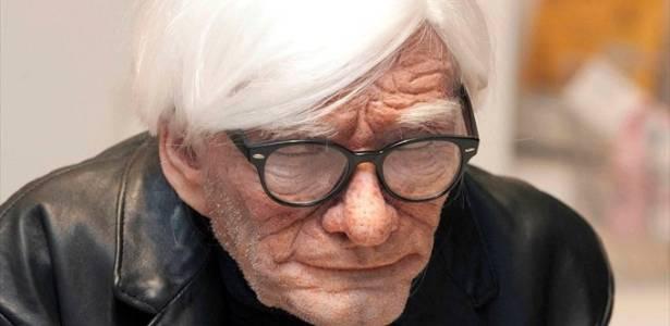 Reprodução do artista Andy Warhol, aos 83 anos - Divulgação