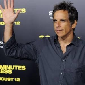 """O ator Ben Stiller durante pré-estreia de """"30 Minutes or Less"""" em Los Angeles (8/8/2011)"""