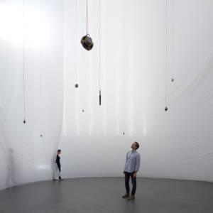Instalação de Carlito Carvalhosa no MoMA, em Nova York(31/08/2011) - AFP