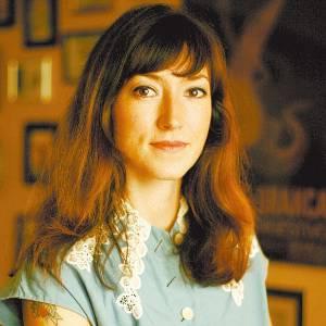 A escritora inglesa radicada na Alemanha, Charlotte Roche (2009) - Divulgação