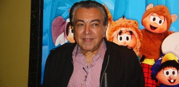 """Mauricio de Sousa, criador da Turma da Mônica, acompanha a sessão para convidados do musical """"Era uma vez uma floresta"""", no Rio (7/9/11) - AgNews"""