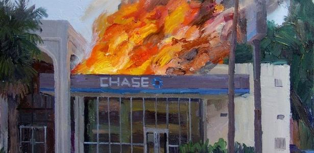 """Imagem da obra """"Alex Schaefer"""" arrematada por 25 mil no eBay - AP"""