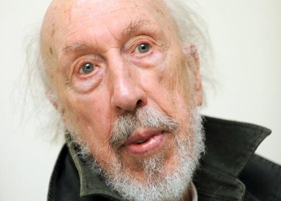 O artista Richard Hamilton, considerado o pioneiro da pop art - EFE/Andy Rain.