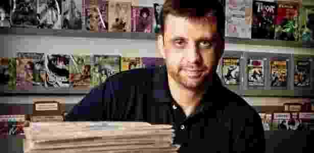 """Eduardo Spohr, 34 anos, autor do best-seller """"A Batalha do Apocalipse"""", que vendeu mais de 180 mil cópias - Divulgação"""