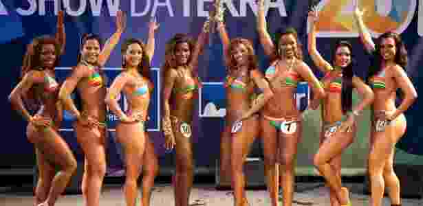Finalistas do concurso que escolhe a Rainha do Carnaval 2012 (7/10/2011) - Fernando Maia/Riotur