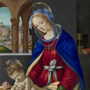 Quadro de Filippino Lippi em exposição na cidade de Roma, na Itália (04/10/2011) - EFE