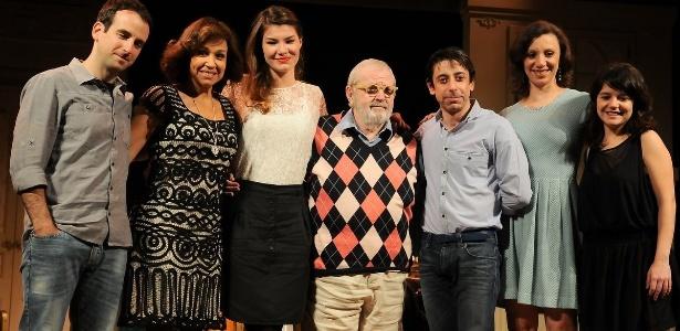 Elenco da peça se reúne em coletiva (29/09/11) - Francisco Cepeda/AgNews