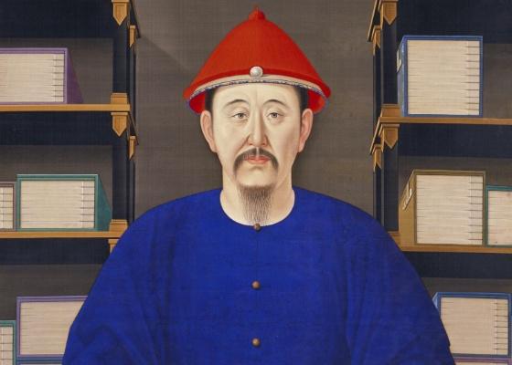 """Obra """"Retrato de Kangxi en traje ordinario"""", exposta no Louvre - EFE/LOUVRE"""