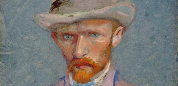 Auto-retrato de Vincent van Gogh de 1887; a pintura está no Van Gogh Museum, em Amsterdam - AP