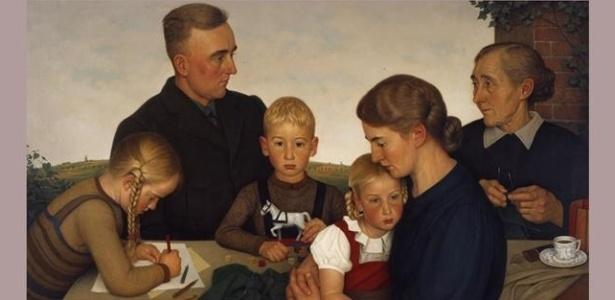 """Família de agricultores de Kalenberg"", por Adolf Wissel (1939) - Deutschewelle"