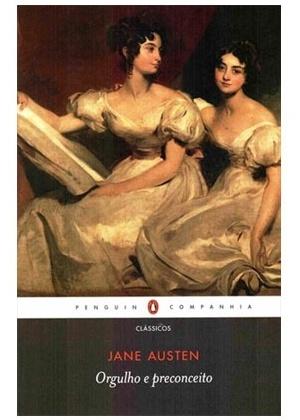 """Capa do livro """"Orgulho e Preconceito"""", de Jane Austen - Divulgação"""