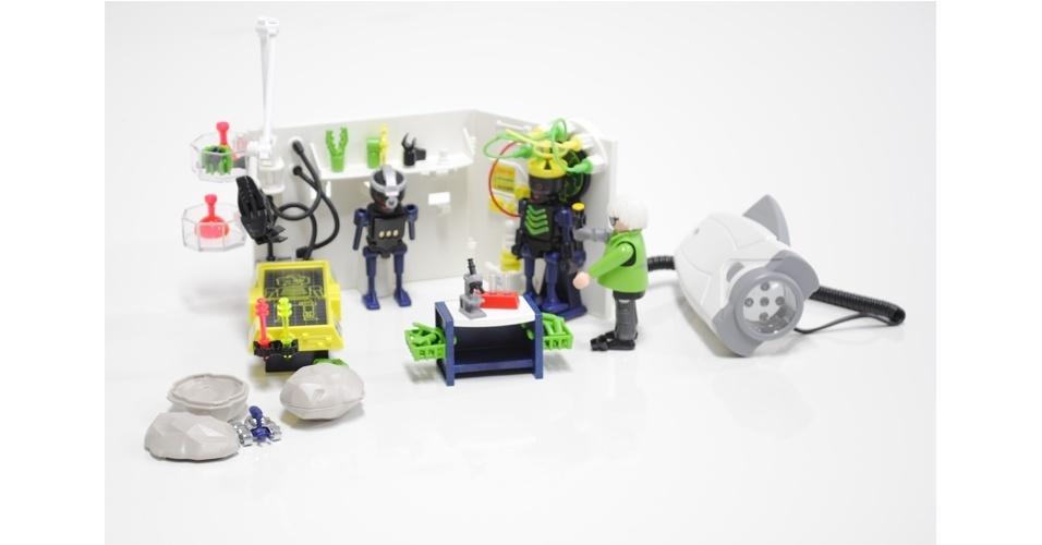 Laboratório Robô-Gangster